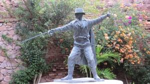 Zorro, Posada del Hidalgo in El Fuerte, Mexico (Photo Bob Bowers)
